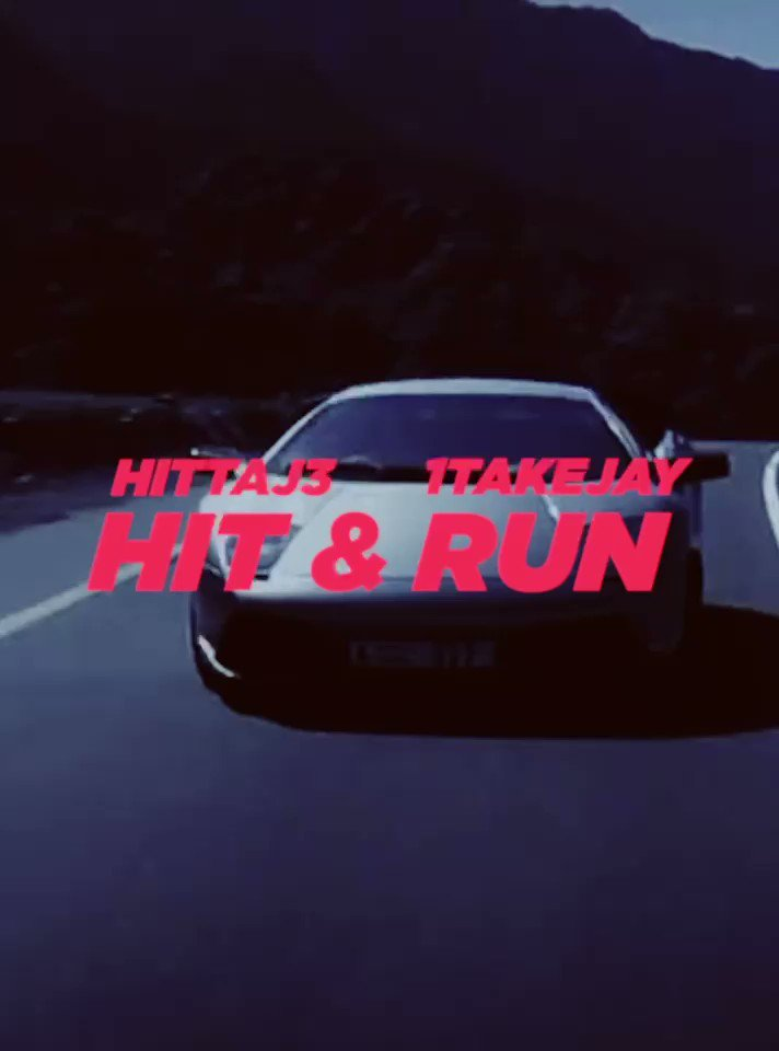 "New Single"" 🔥🏎💨 Hit & Run‼️‼️‼️ Feat @1TakeJay_ Out Now  @EMPIRE @AppleMusic @iTunes"