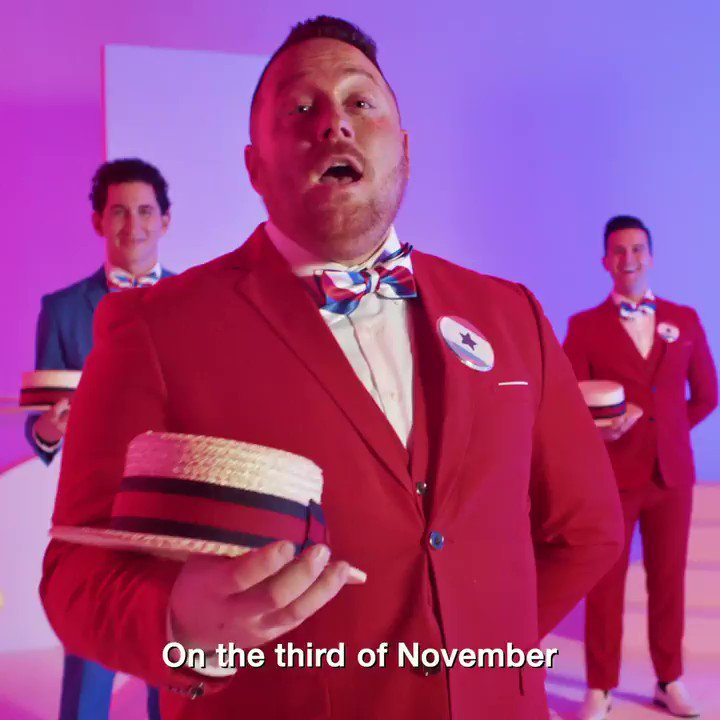 🎶  SINGS POLL WORKERS PRAISES 🎶   Poll workers, in some states, even get paid. Find out how to sign up at your Facebook Voting Information Center. For official information from election authorities, visit your   🎶 by Midtown • A Vocal Quartet