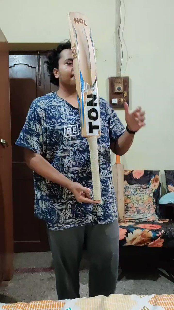 @ajinkyarahane88 @Riteishd @ajinkyarahane88  Sir challenge accepted 🙏🏻 #CEATBalanceTheBatChallenge  One bat, two fingers, 47 seconds, and 17 rounds. @CEATtyres  #Dream11IPL  #CEATTyreStrategicTimeout