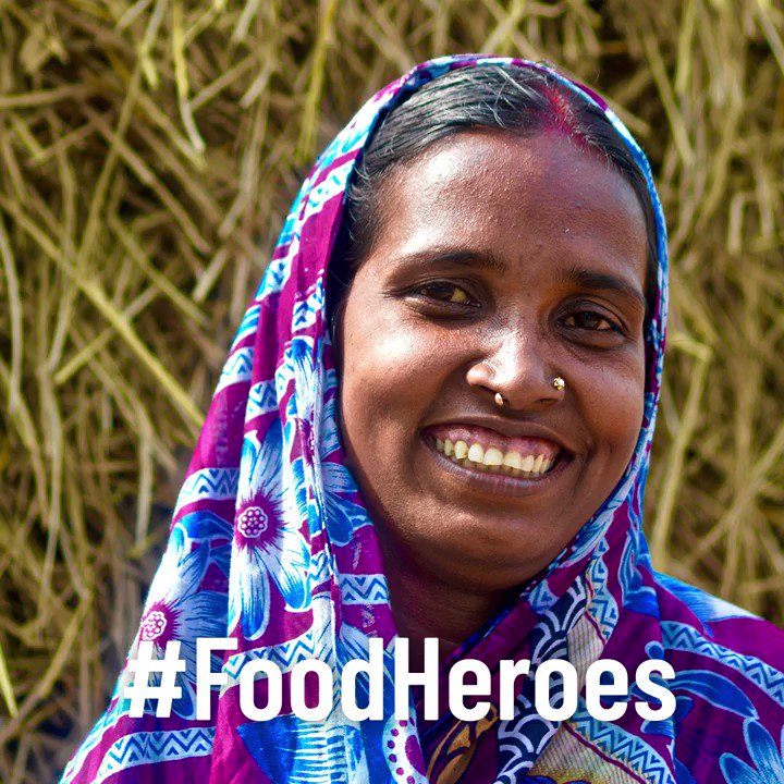 Despite all the challenges, our #FoodHeroes are continuing to feed the 🌎 Lets help them... Grow, Nourish, Sustain. Together. Here are their stories 👉bit.ly/3imHCOJ #UNDay