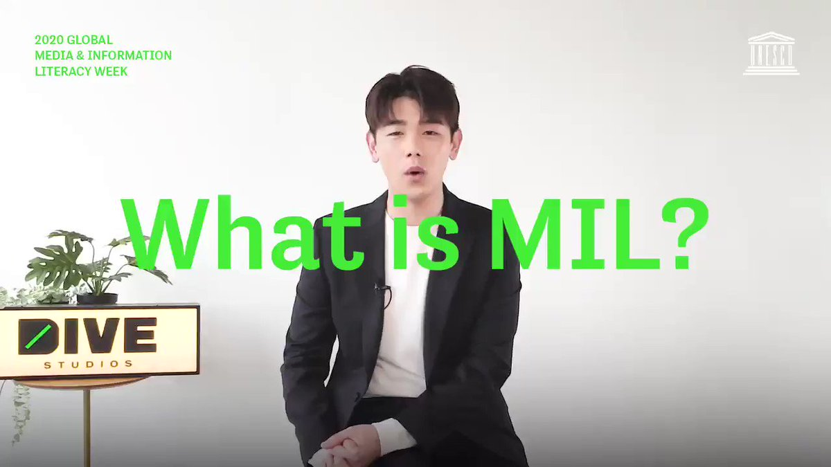 Eric Nam, Korean-American Kpop star and a global ambassador for media and information literacy , talks about the importance and benefits of being a Media and Information literate through effective engagement, and dialogue.#UNESCO #GLOBALMILWEEK2020 🌍 @ericnamofficial