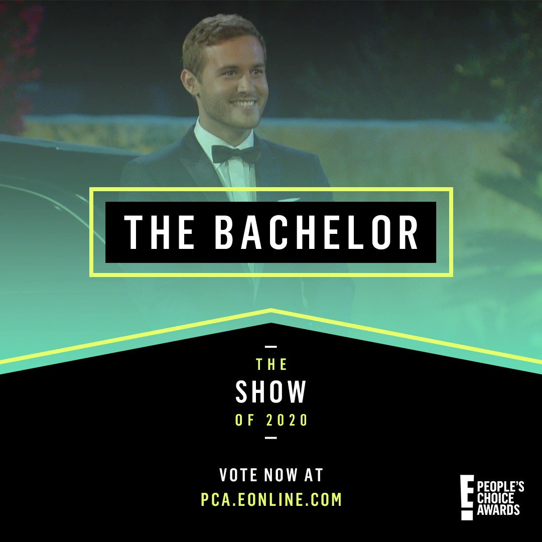 🤩 Today is the last day to vote for The Bachelor in the @peopleschoice Awards! Vote by retweeting this tweet, or sending your own tweet with: #TheShow and/or #TheCompetitionShow + #TheBachelor 💋 #PCAs