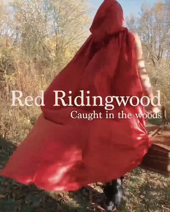 Anybody else loving these fall vibes!!? Red Ridingwood. Available now. @mollypills_ https://t.co/xmI