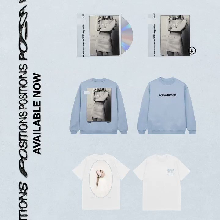 positions merch 🤍 arianagrande.lnk.to/shop