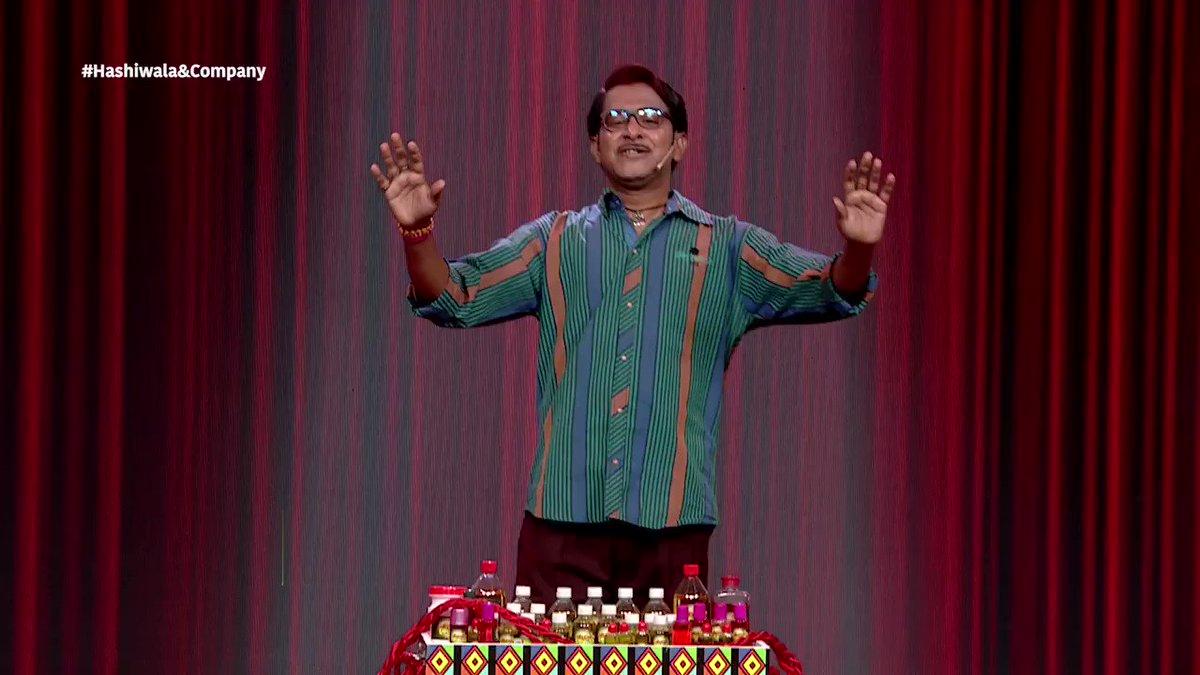 ঘড়ির কাঁটায় এখন 9:30টা । এবার হাসি হবে দমফাটা । হকার তন্ময়ের কমেডিতে এবার হেসে কুপোকাত হওয়ার পালা ! দেখুন 'হাসিওয়ালা & কোম্পানি' | এই শনি - রবি 9:30 PM #StarJalsha #স্টারজলসা  @Jisshusengupta | @AparajitaAdhya | @AnkushLoveUAll