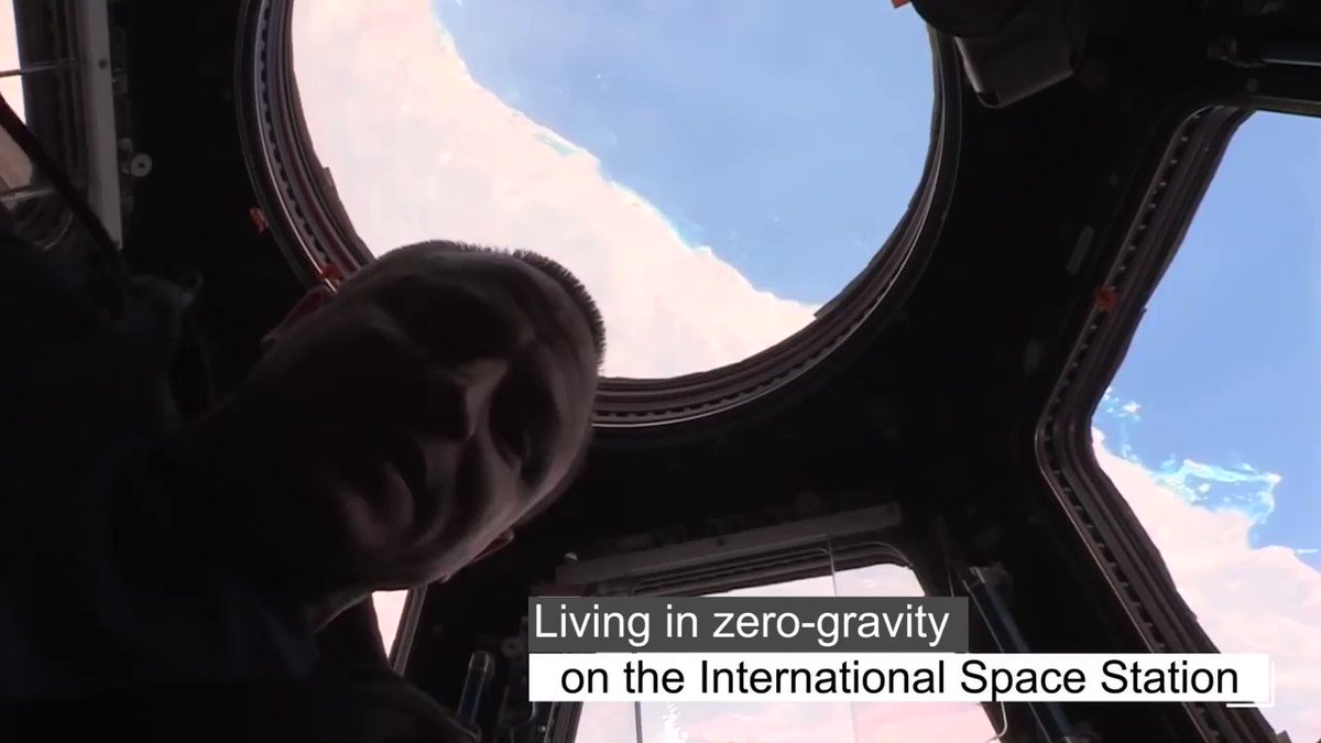 .@Space_Station science may be cooking up something as good as chicken soup. See how research in zero-gravity might help kick-start our immune systems on Earth. #SpaceStation20th