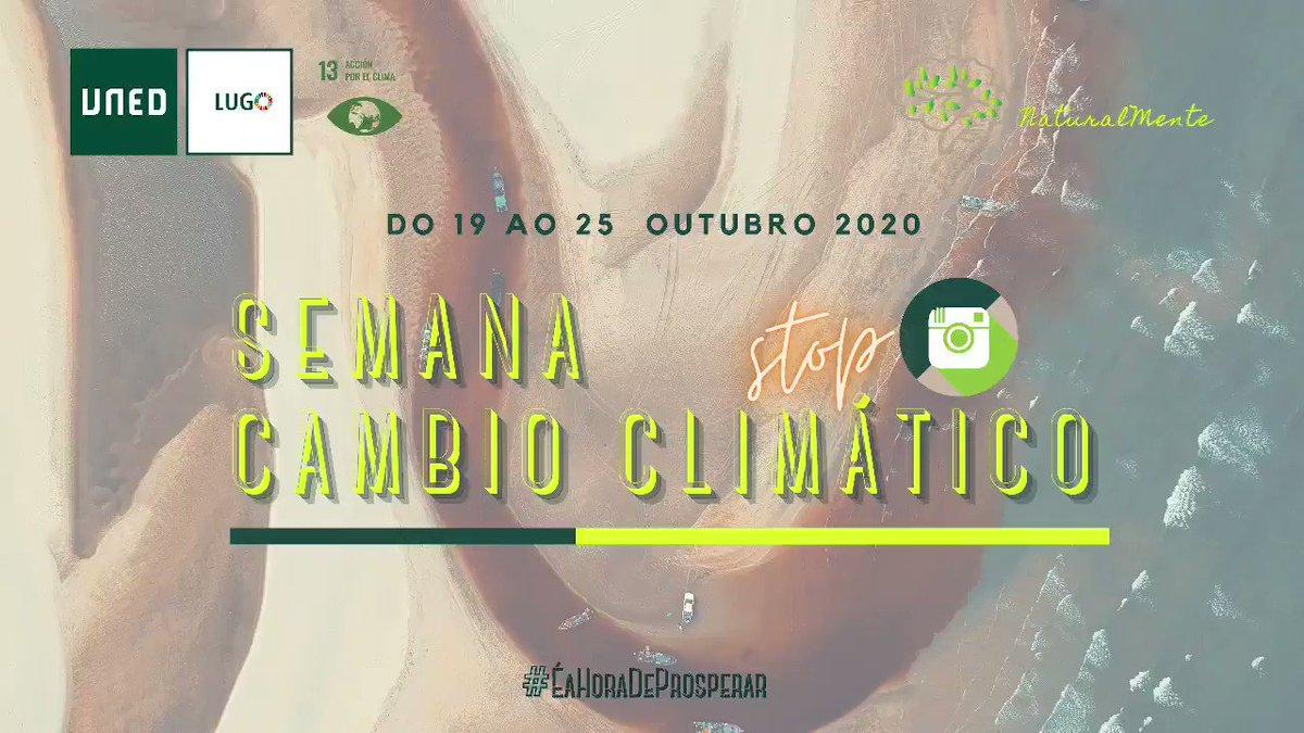Image for the Tweet beginning: SUMEMOS FRONTE AO CAMBIO CLIMÁTICO.