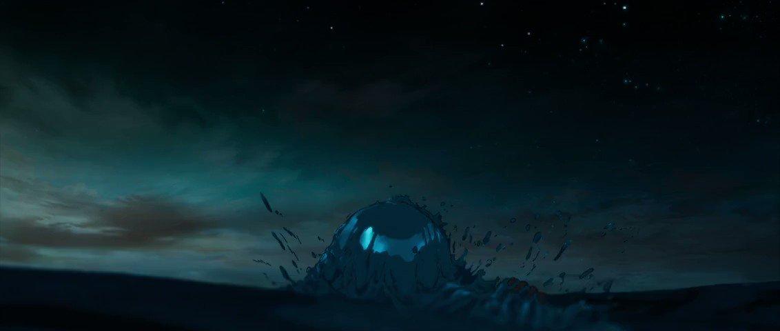Key Animation: Sanae Shimada (嶋田 真恵)Movie: Children of the Sea (海獣の子供) (2019)