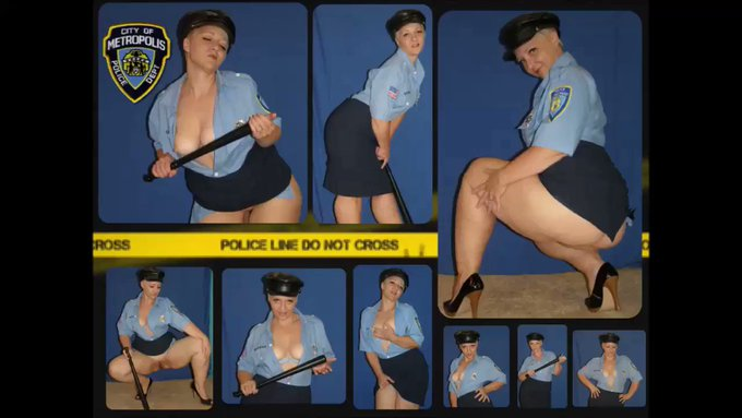 🎦NEW VIDEO🎦  [OFFICERsizzle]  Metropolis Cop sizzle is looking super sexy.   You'd better follow her