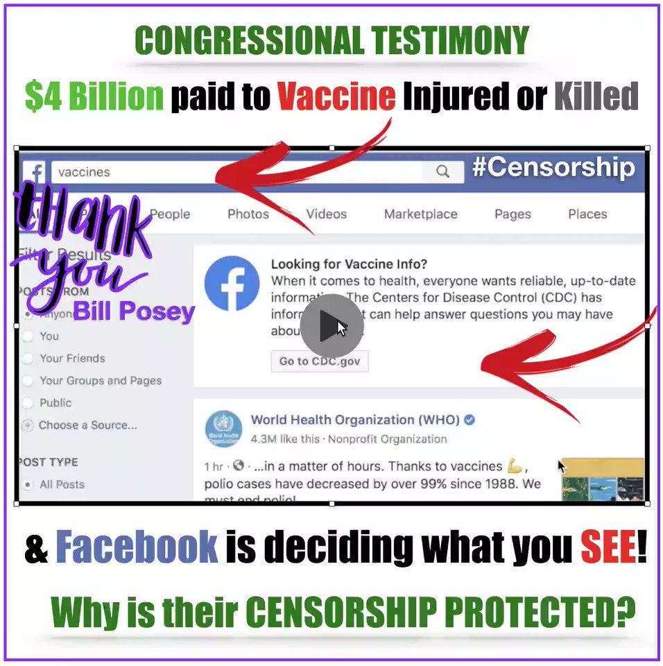 Image for the Tweet beginning: The Testimony... #Censorship Hearing