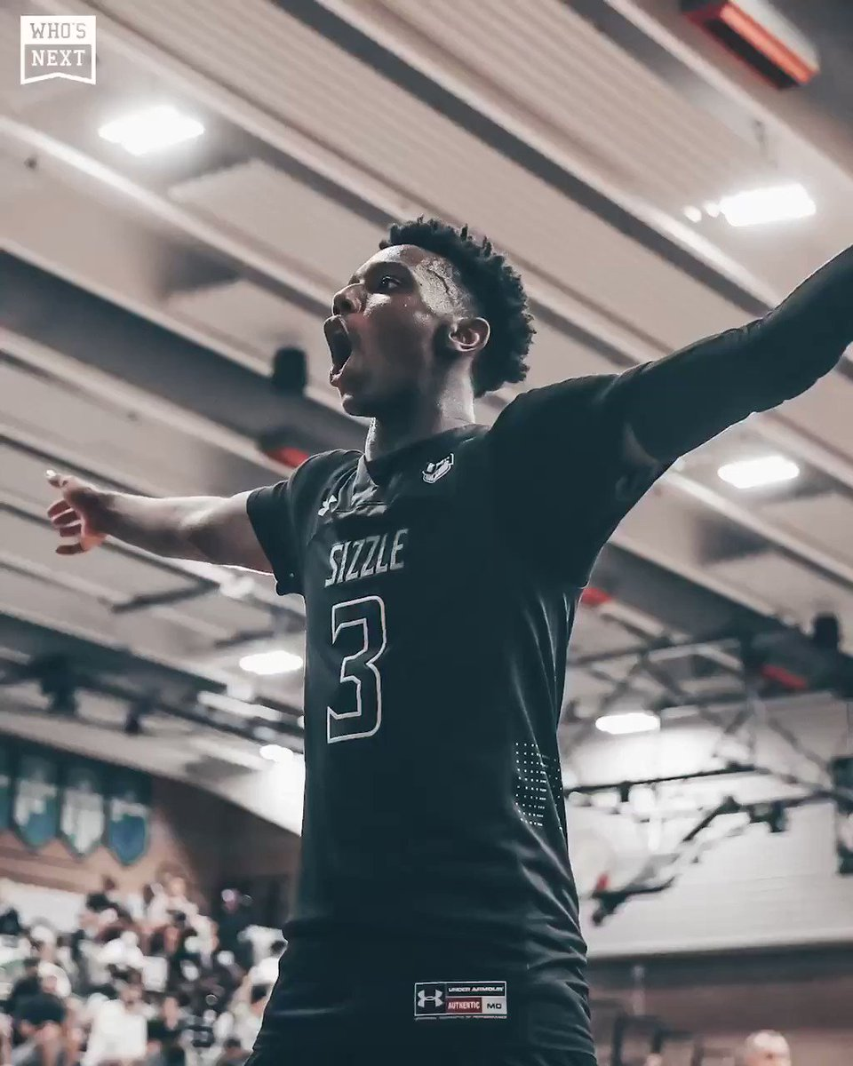 Replying to @WhosNextHS: Big game for Hercy Miller — don't sleep now 👁  @hercymiller15 #GEICOtfi @brdrleague