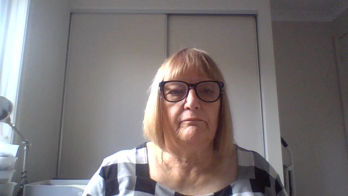 Image for the Tweet beginning: Marilyn Pattison, WFOT President encourages