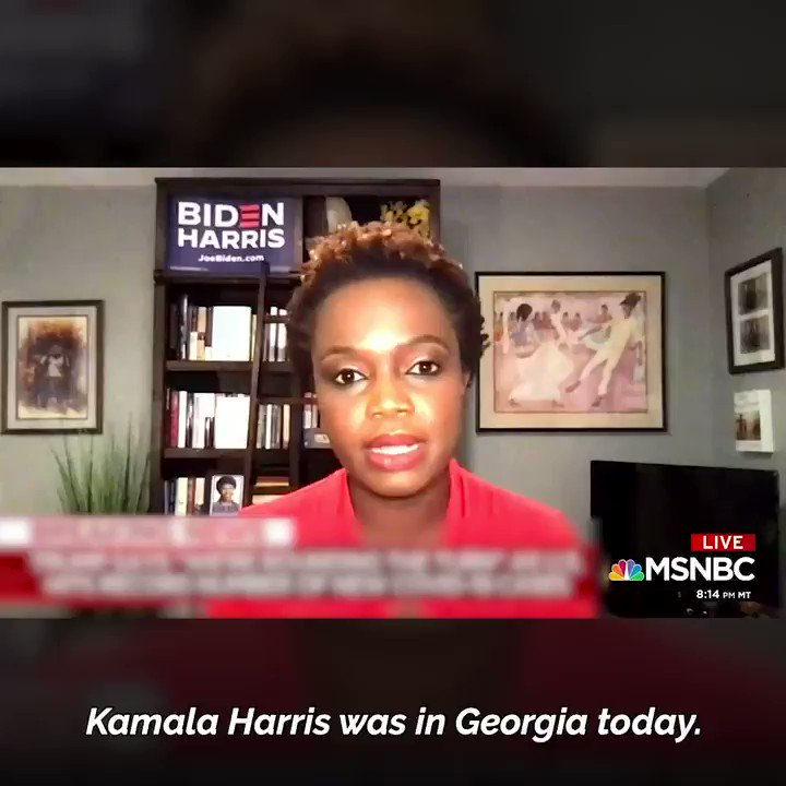 .@K_JeanPierre, @kamalaharris Chief of Staff, is right: Democrats are on offense in Georgia. We have the power to flip Georgia blue if we make our voices heard. Make your voting plan today: iwillvote.com. #gapol