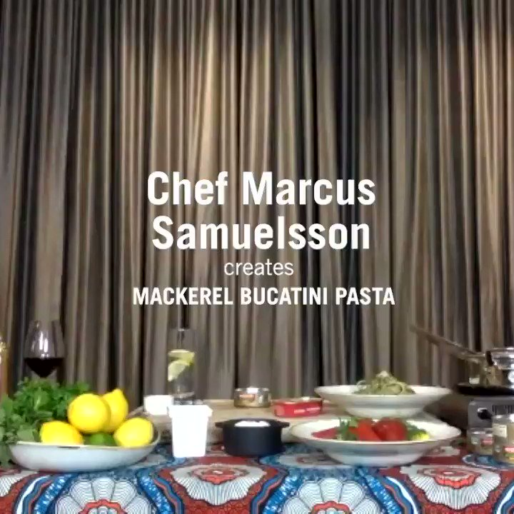 Cook like a pro, eat like royalty! Tomorrow night 10/26 6pm ET we're hosting a special Facebook Watch Party! Chef Marcus Samuelsson @MarcusCooks chases new flavors and shares a Mediterranean-style seafood pasta recipe fit for a king. Tune in for some flavorful, vibrant fun! https://t.co/0Xg9CgiaYc