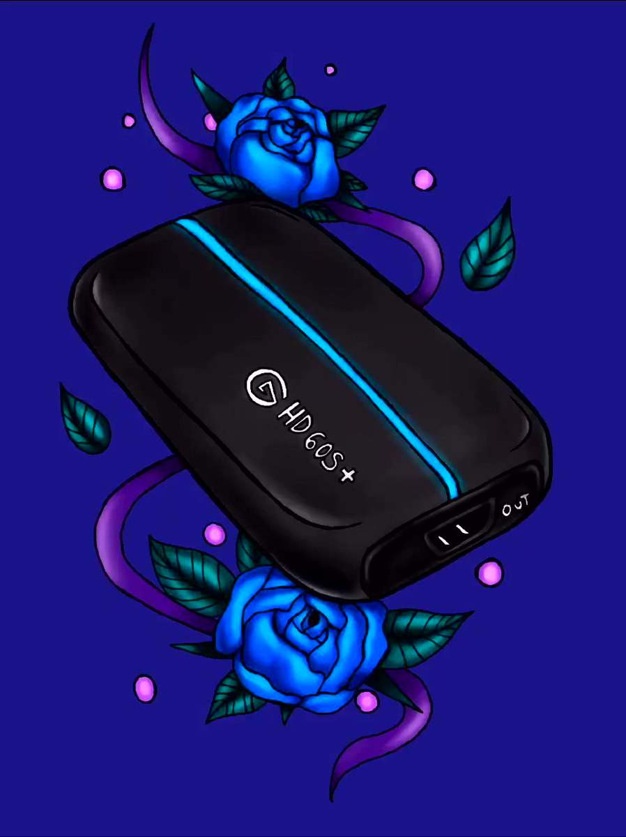 ElgatoGaming - Happy #InternationalArtistDay.  Feel free to share your Elgato art below! All artistic levels welcome.   🎨 HD60 S+ art by @chiara_nero