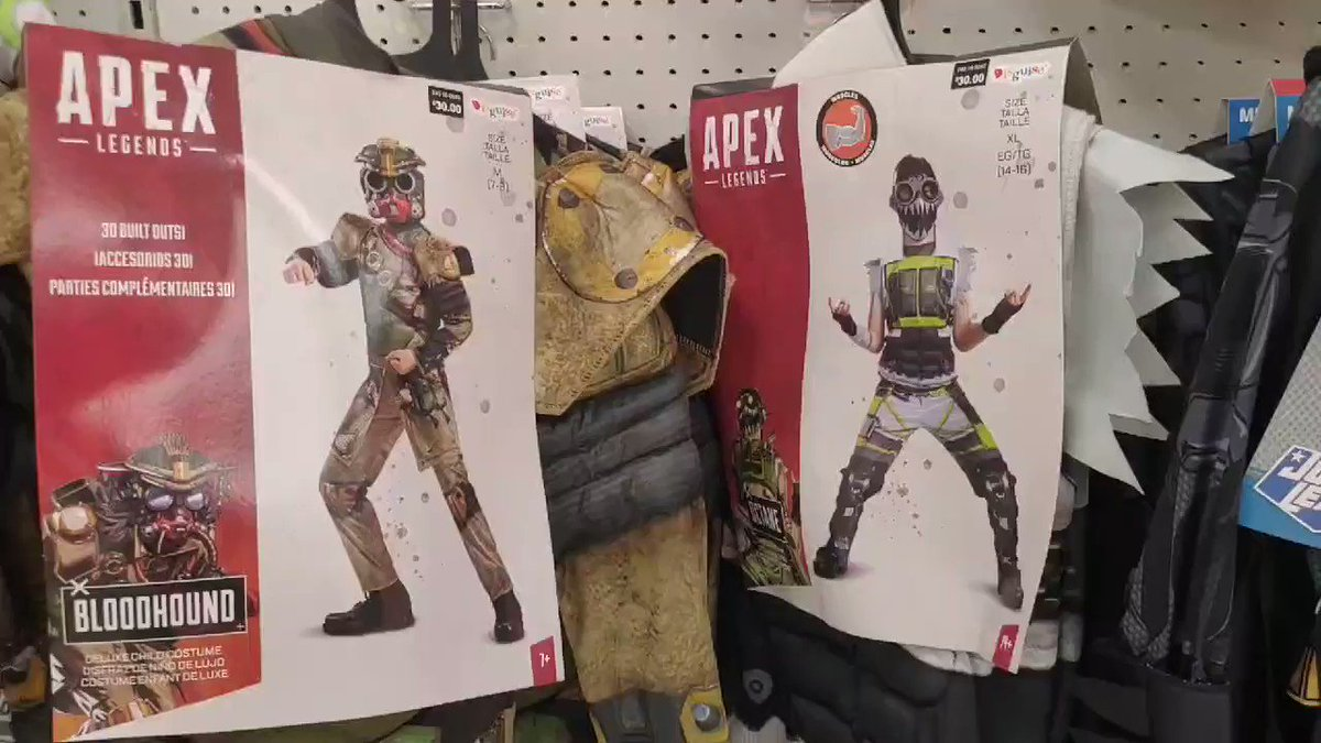 Drift0r - I had no idea @PlayApex costumes are sold in @Target now!