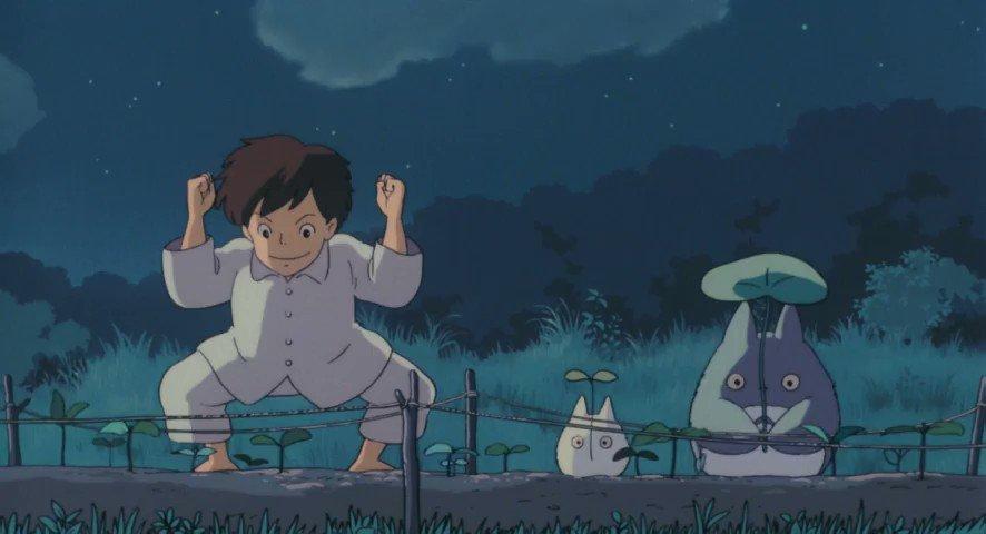 Key Animation: Makiko Futaki (二木 真希子)Movie: My Neighbor Totoro (となりのトトロ) (1988)