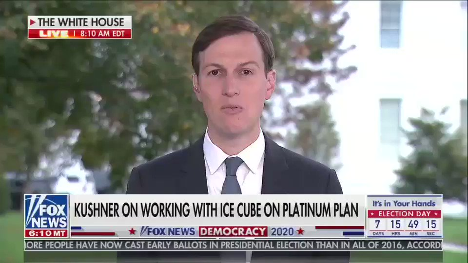 """""""he can't want them to be successful more than that they want to be successful,"""" is a thing said by Jared Kushner, whose father bought him into Harvard and NYU, then gave him a real estate fortune, before he got his current job from his father in law https://t.co/iAp4yAs8va"""