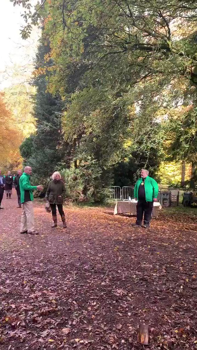A short walk away, The Duchess watches activities at the Woodland Community Hub, where community wellbeing programmes take place to support people with mental health difficulties or early stage dementia. @WestonbirtArb
