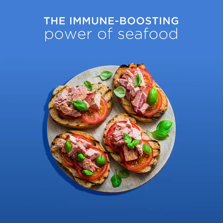 Image for the Tweet beginning: Seafood Month is a great