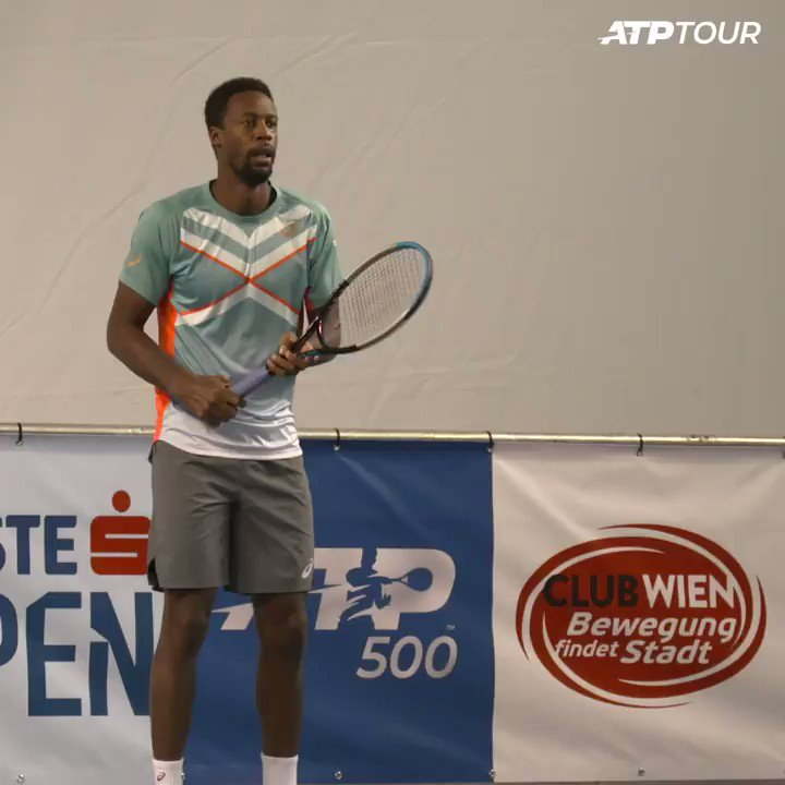 Ready to go 🎾  🇫🇷 @Gael_Monfils kicks off his #erstebankopen campaign against Pablo Carreno Busta. https://t.co/CUOAbzzW9i