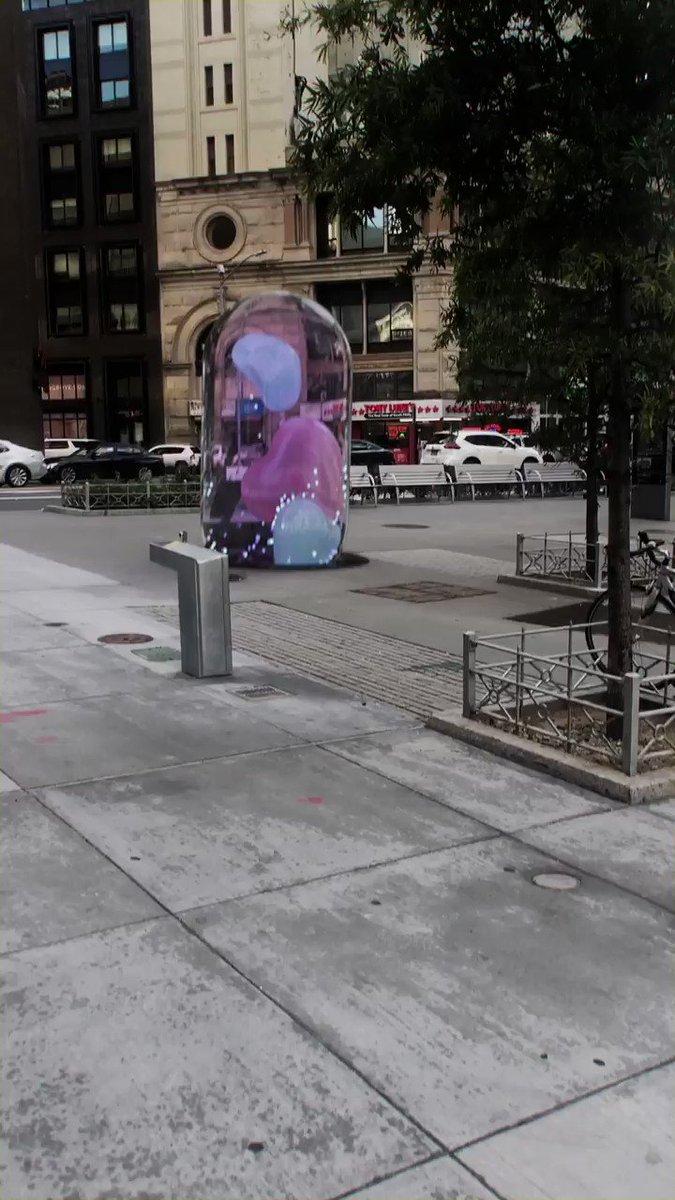 Pill #StreetArt #motionGraphics #AR #3dart #digitalart