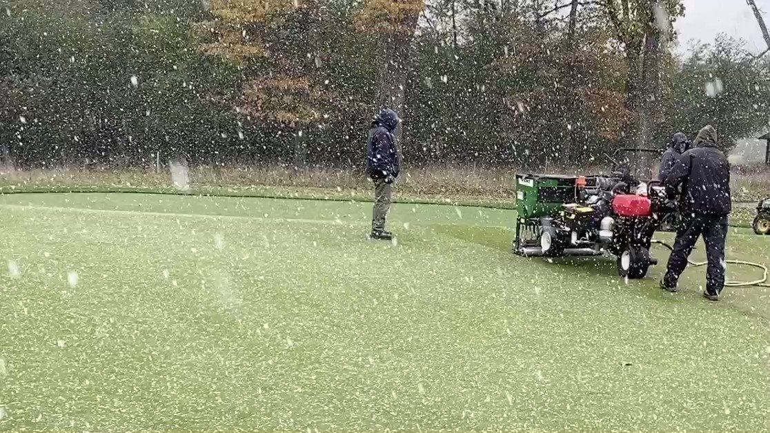 Image for the Tweet beginning: Dry-Ject Aeration / Sand Injection