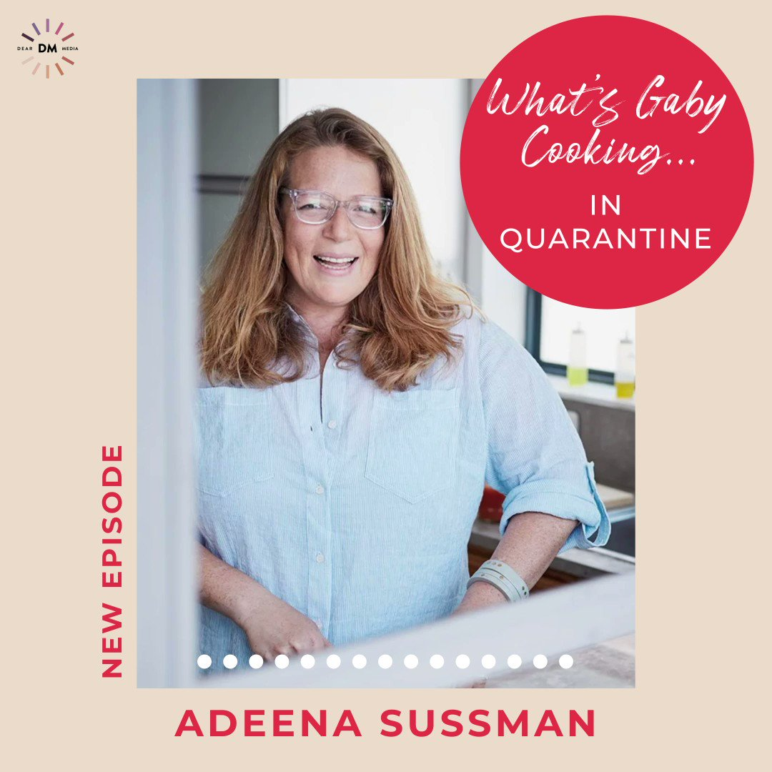 New podcast ep!! I've been obsessed with @AdeenaSussman for quite some time so buckle up and get ready to meet the queen of all things recipe development! And get ready to book a ticket to Israel - because it sounds like a dream!! Click here to listen 🎧