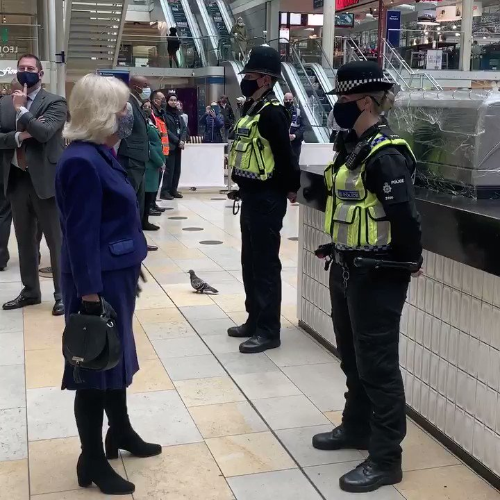 The @BTP police the journeys of over 6 million passengers every day, from London Underground to Glasgow Subway and Emirates AirLine. During the pandemic, British Transport Police have been deployed across the network to engage with passengers and offer reassurance and guidance.