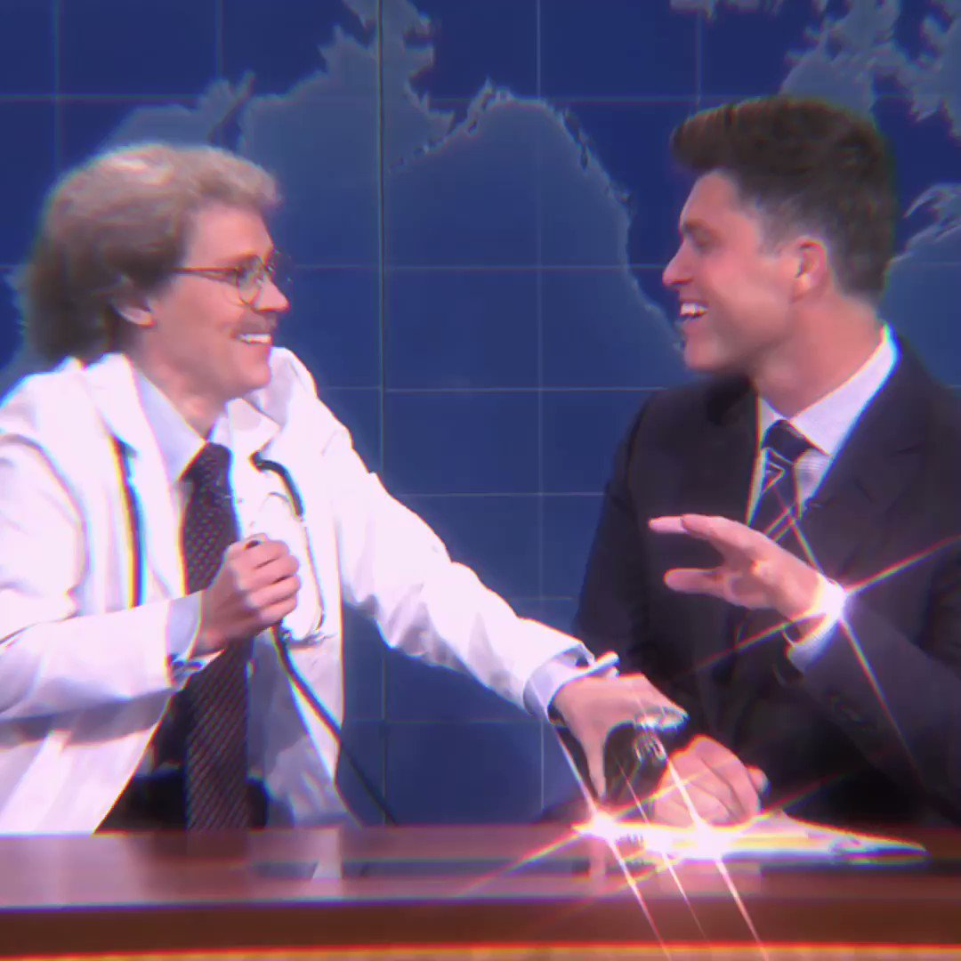 Replying to @catiaaa_: COLIN JOST AND KATE MCKINNON TODAY PLEASSEEEE