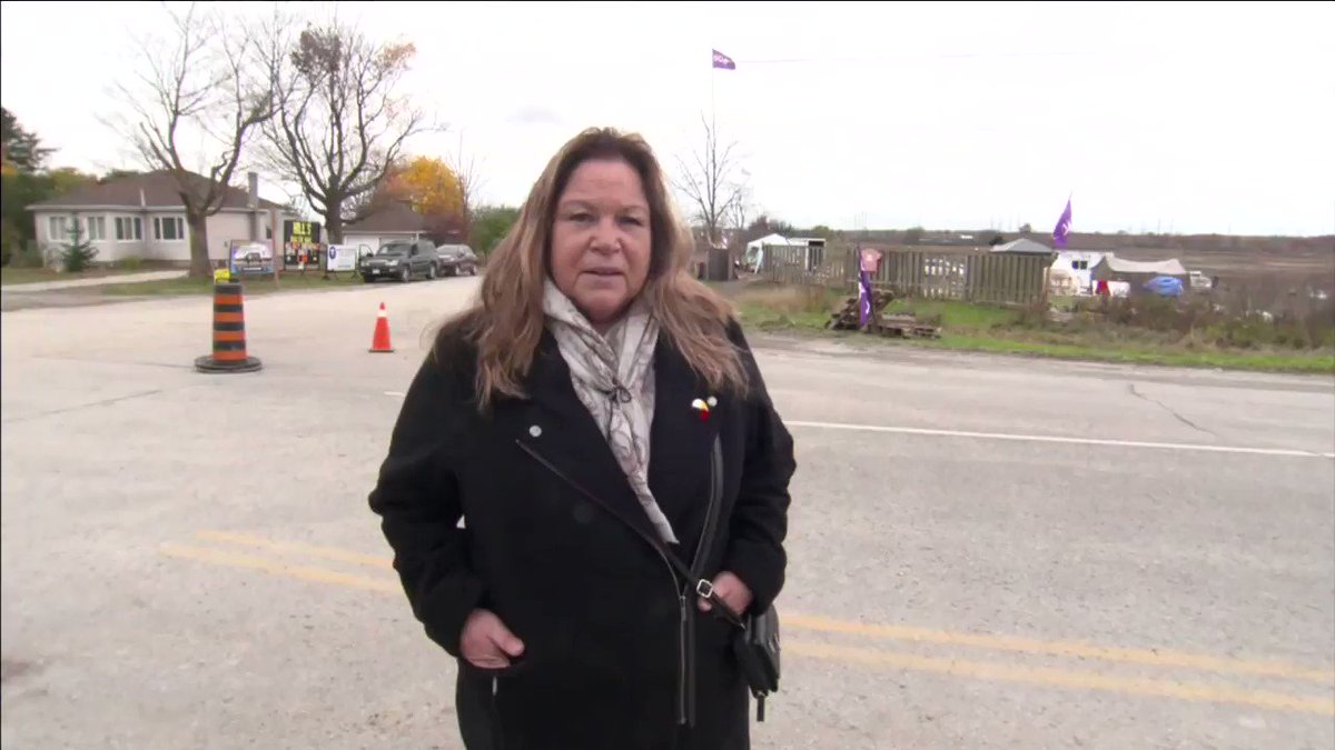 As weather gets cold, long term plans are being put in place at the 1492 Land Back Camp in Caledonia. Reporter Annette Francis gives us the latest.
