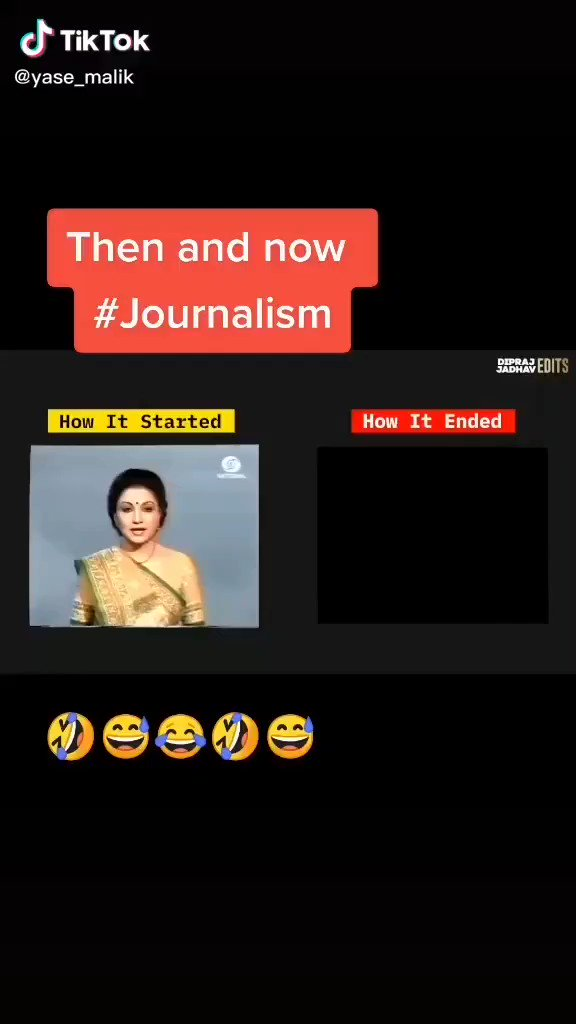 TV news: Then & Now!