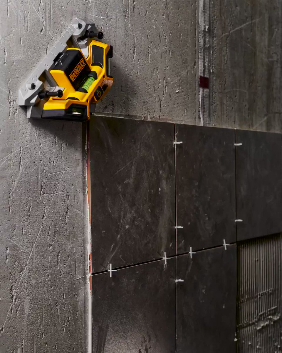 From cutting to setting, get tough tile jobs done with absolute precision. #DEWALTTOUGH