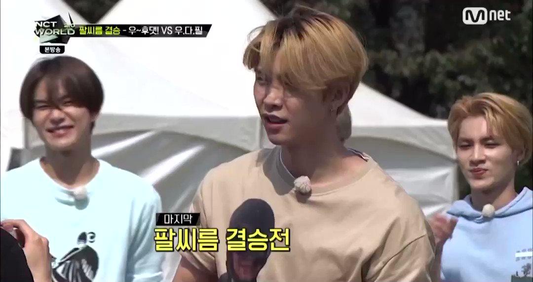 [NCT world 2.0] Johnny and Jaehyun arm wrestling 😱