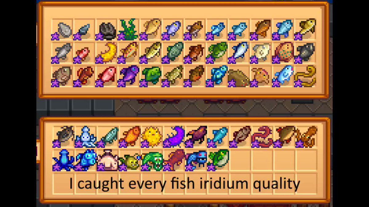 TheHaboo - Are you going to add harder fish in 1.5? @ConcernedApe #StardewValley