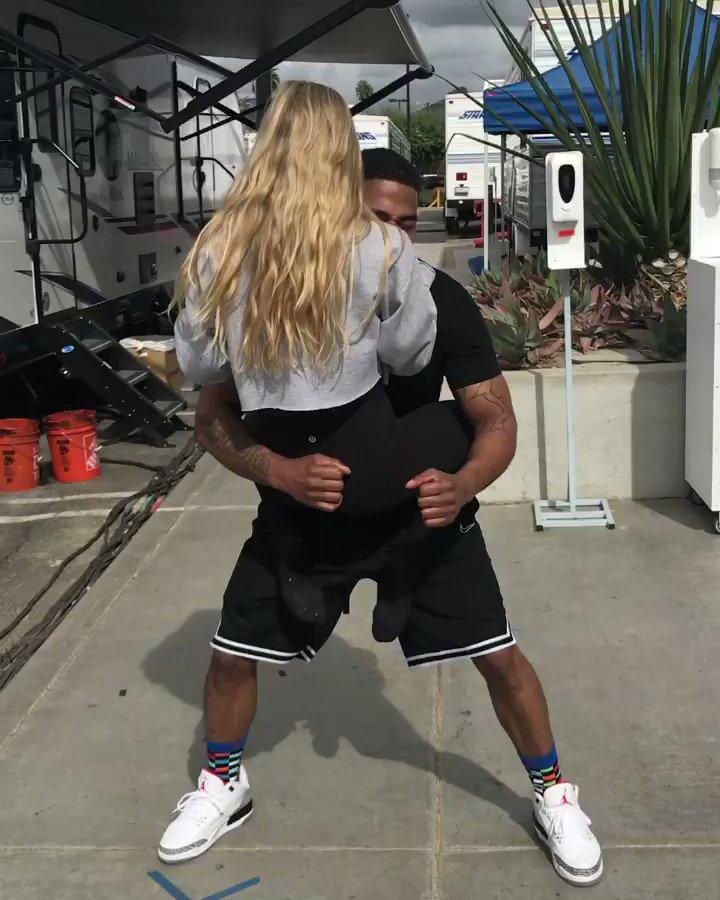 Replying to @DKaragach: Big bro always has my back 😂 #koalachallenge @DancingABC @Nelly_Mo