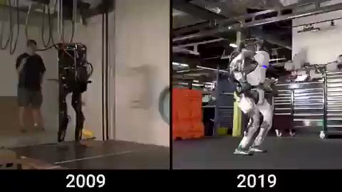 Image for the Tweet beginning: 10 years of #robotics evolution