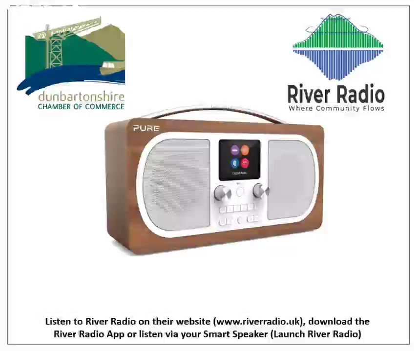 Listen out for the Dunbartonshire Chamber advert on @RiverRadioScot soon!