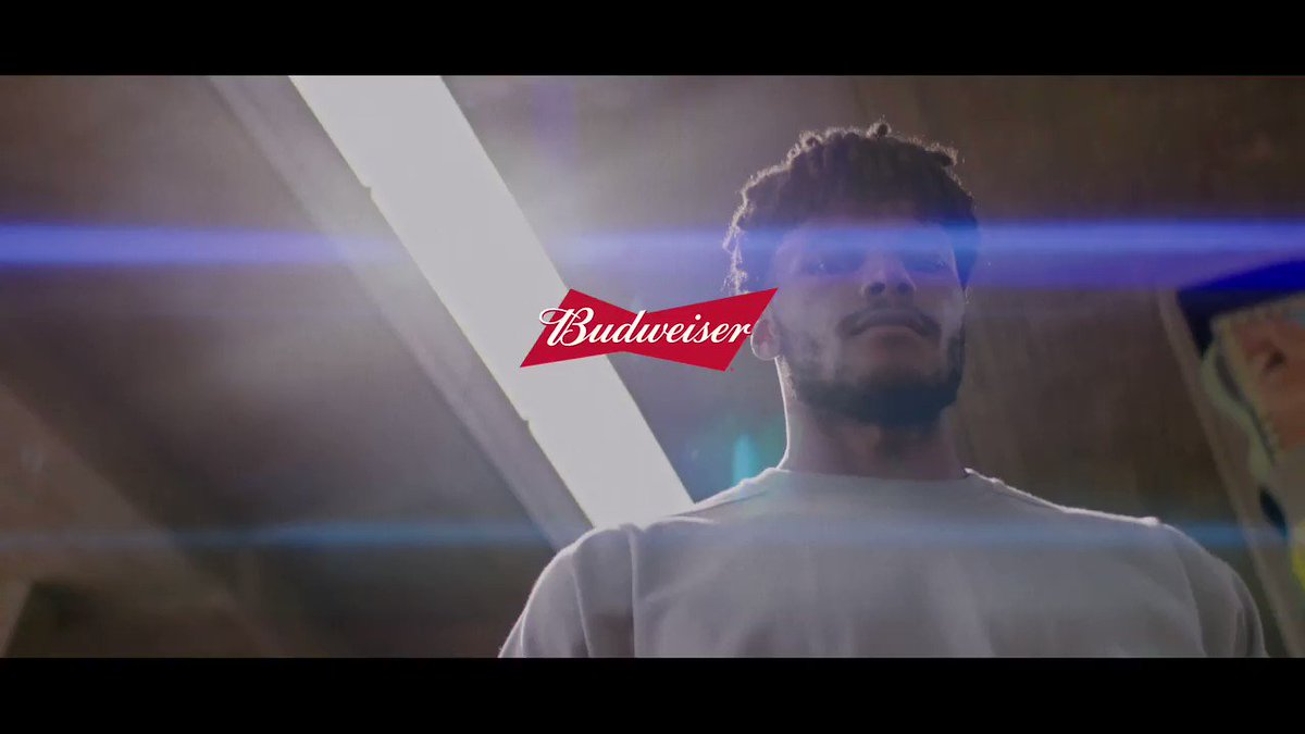 """""""There's been a lot of setbacks… but sometimes out of awful situations, opportunities can be born.""""  @OfficialTM_3 has never let disappointments deter him from reaching his full potential.   This is Side Hustles, presented by @BudweiserUK #KingOfBeers"""