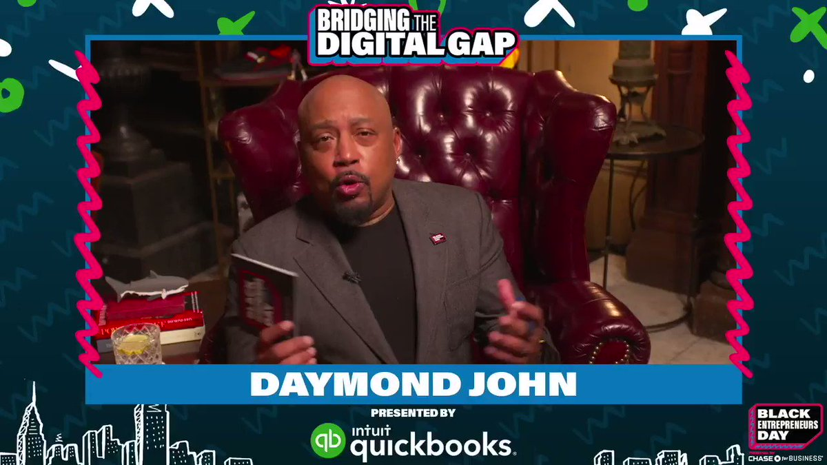 This weekend I sat down with @QuickBooks to discuss how Black entrepreneurs can Bridge the Digital Gap.  Best advice: adopt the correct digital tools to help your business and streamline your workflows for less stress and more achievements. #BlackEntrepreneursDay #ad