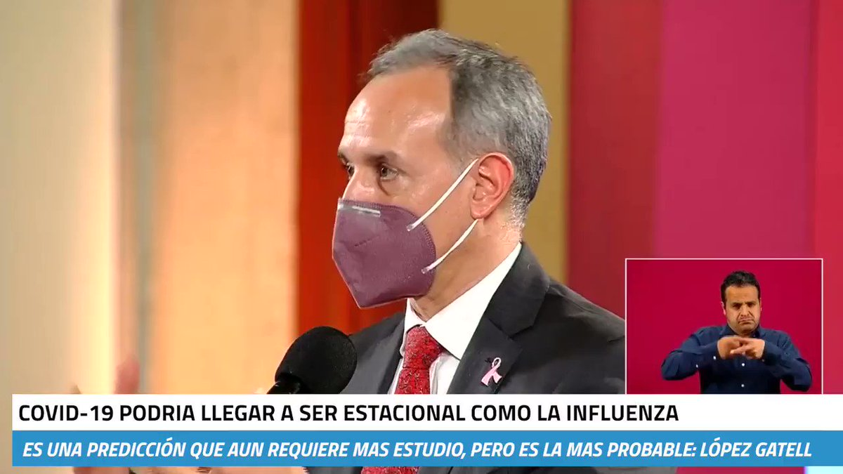 Image for the Tweet beginning: 🔴Como la influenza, el #COVID19