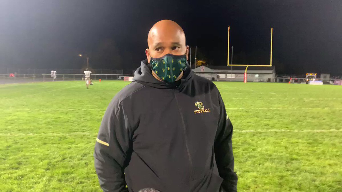 Coach Fairclough speaks about his first win at Parkland's stadium as well as the performance from the Hornets. @EHSpressbox @_EHSAthletics @EmmausFootball @D11Sports @harfair