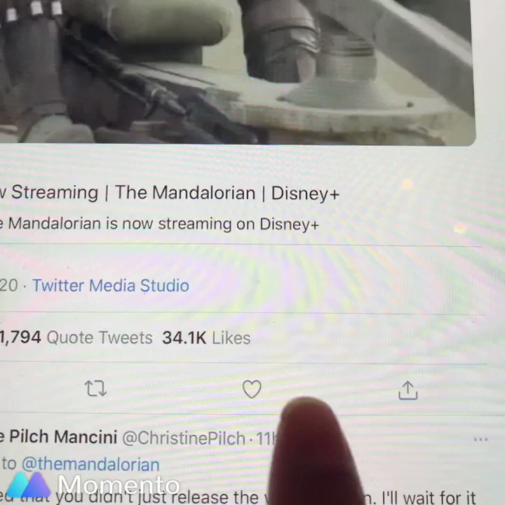 @themandalorian @Verizon When you love #TheMandalorian tweets 🥰✨❤️