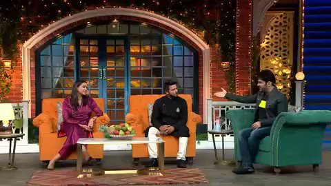 The beautiful couple ❤️ @ImRaina n @PriyankaCRaina in #tkss tonight 🥳 #thekapilsharmashow don't miss the fun 🥳🙏 @SonyTV @apshaha #comedy #fun #laughter #saturday #family #familytime 🙏