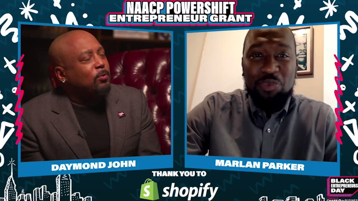 Unstoppable. @Shopify and Black Entrepreneurs Day want to empower small business owners and help them grow!