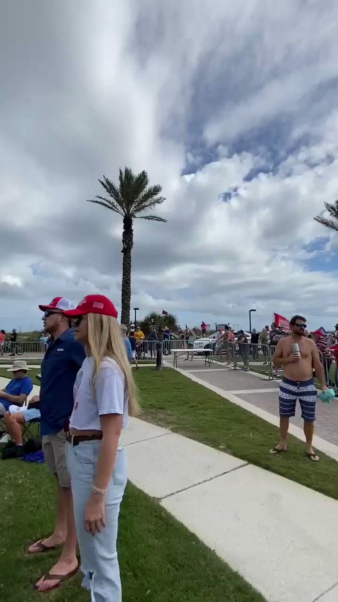 My good friend @APA1128 is at the @EricTrump rally in Florida! Check out her awesome video! ♥️🇺🇸✈️ #TrumpPence2020 #WeLoveTrump #RedWave #VoteRed