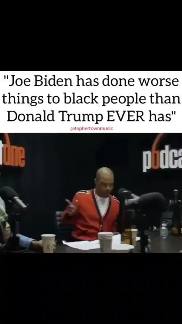 HELLO BIDEN SUPPORTERS 👋🏽 Y'ALL STILL VOTING FOR THIS P.O.S 🔥 JOE BIDEN HELPED WRITE THE 1994 CRIME BILL THAT TARGETED AFRICAN AMERICANS & LATINOS. HE DESTROYED MILLIONS OF HOUSEHOLDS. WTF, WAKE UP PEOPLE.