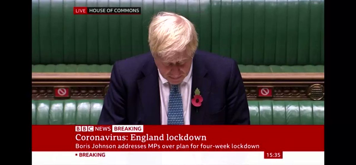 I often wonder if Johnson is actually PM or just for show, because he knows fuckall about anything!  Listen to this shit, what do you think?  #lockdown2uk #JohnsonSpeech