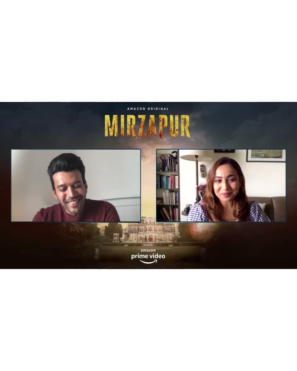 Spoke with the wonderful #AnjumSharma of #Mirzapur2 on my #MenOfMirzapur series. @an_3jum Catch the full chat here  #SharadShukla #MirzapurOnPrime @PrimeVideoIN @divyenndu Here he tells me about 'that' famous wine scene!
