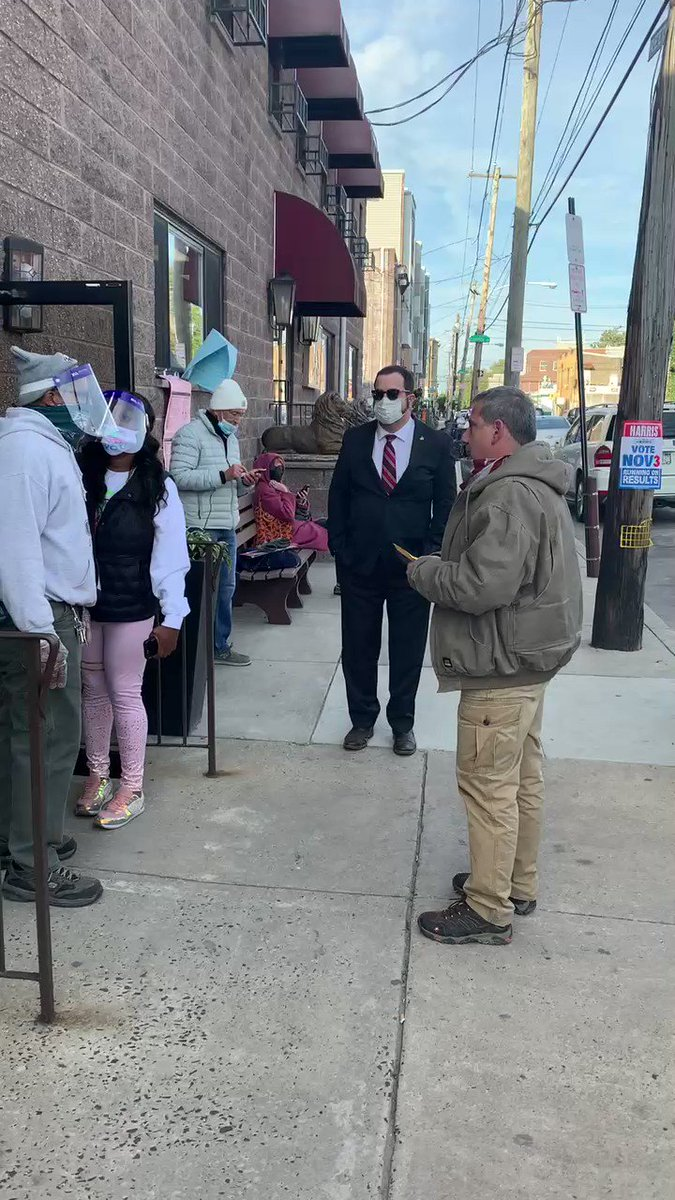 Second, I saw a poll watcher get wrongfully prevented from entering a poll location  This really happened - and it wasn't just my new friend Gary, the Trump Campaign had a number of reports of poll watchers being excluded